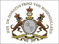 Coat of arms of Dr. Donatus Prinz von Hohenzollern